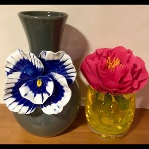 Anthropologie SUPER RARE flower vase